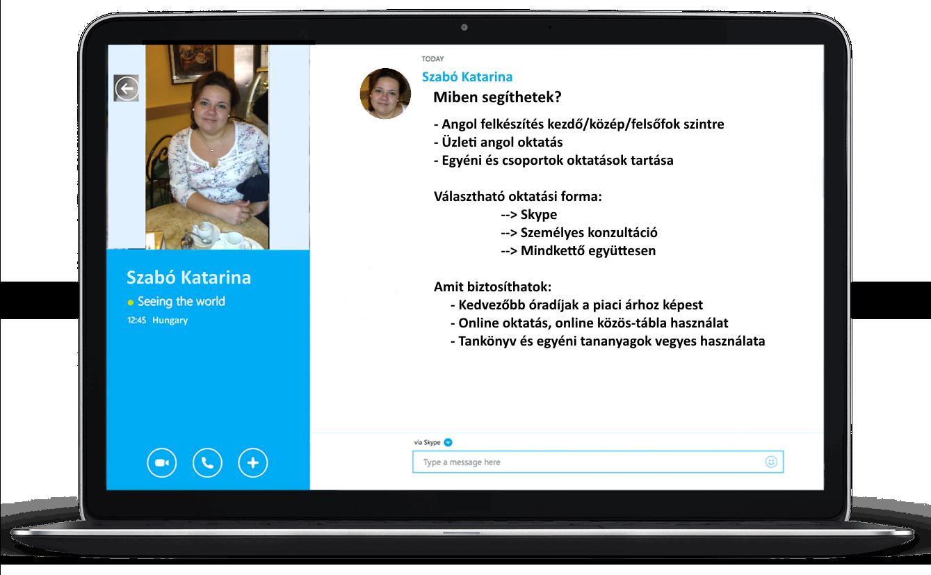 Skype oktatás